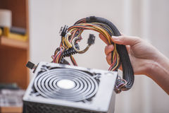 Power supply Royalty Free Stock Photography