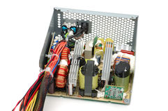 Power supply inside Stock Photography