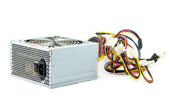 Power supply isolated Stock Image