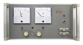 Power supply retro Stock Photos