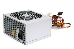 Power supply unit Stock Image