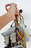 Power supply unit Royalty Free Stock Photo