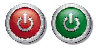 Power Switch Icon Royalty Free Stock Photo