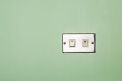 Power switch on/off Stock Images