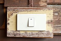 Power switch on off. The power switch on off royalty free stock images