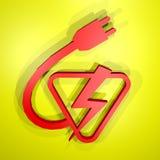 Power symbol Stock Photo