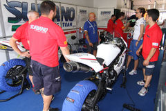 Power team by Suriano Triumph Daytona Stock Image