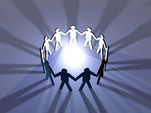 Power of Teamwork 2 royalty free illustration