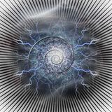 Power of time royalty free illustration