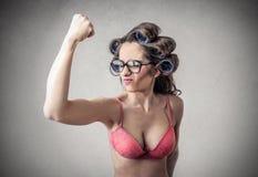 Power to women Royalty Free Stock Photo