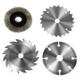 Power tool discs Stock Image