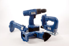 Power Tool Group Stock Photo