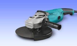 Power tool. Drill work tool circular saw electric saw jigsaw set Stock Photos
