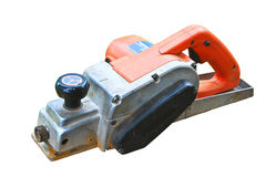 Power tool on white background Stock Photo