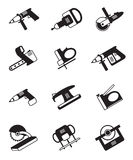Power tools for construction Royalty Free Stock Photos