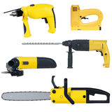 Power tools set Royalty Free Stock Images