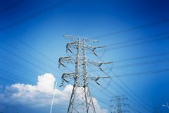 Power tower Royalty Free Stock Images