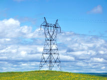 Power Tower Royalty Free Stock Image