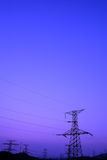 Power tower. This pic was took at daya bay nuclear power plant Stock Photo
