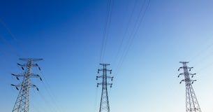 Power tower Stock Photo