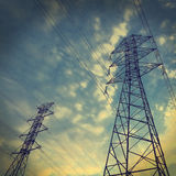 Power towers Stock Image
