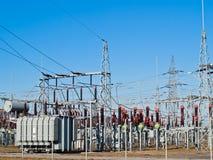 Power transformator Stock Photography