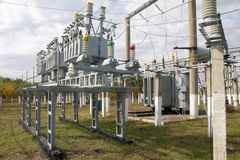 Power transformer Royalty Free Stock Photos