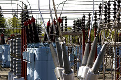 Power transformers Royalty Free Stock Photos