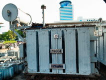 Power transformers for large-scale industry Stock Photography