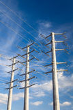Power Transmission Electrical Lines Royalty Free Stock Image