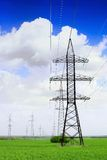 Power Transmission Line. Stock Image
