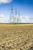 Power Transmission Line. Stock Images