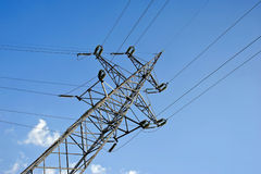 Power Transmission Line Royalty Free Stock Photo