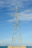 Power Transmission Line Stock Photo