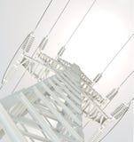 Power Transmission Line Stock Photo