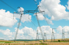 Free Power Transmission Line Stock Photo - 32411870