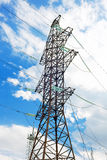 Power Transmission Line. Close-Up Stock Photo