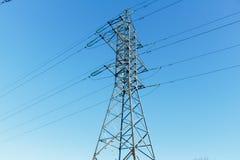 Power transmission line Stock Images