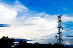 Power Transmission Line Royalty Free Stock Images