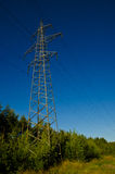 Power transmission line Royalty Free Stock Image