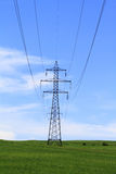 Power Transmission Lines Stock Photos