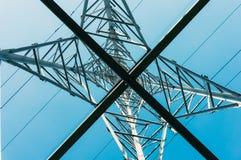 Power transmission pole Royalty Free Stock Photo