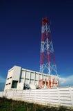 Power Transmission Station Royalty Free Stock Photo
