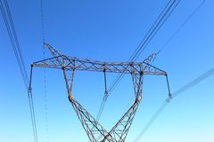 Free Power Transmission Tower Stock Images - 17623394