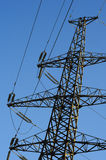 Power transmission tower Royalty Free Stock Photography