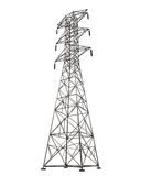 Power Transmission Tower Stock Images
