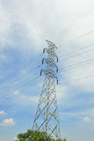Power transmission towers. Royalty Free Stock Images