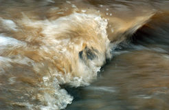 Power of a  troubled water Stock Photography
