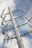 Power utility pole Royalty Free Stock Photos