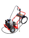 Power Washer Isolated on White Stock Photography